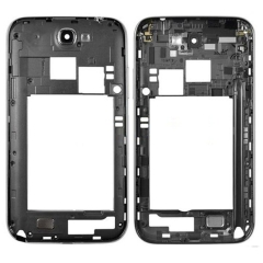 Touch Screen Digitizer Assembly with Frame for Samsung Galaxy Note II N7105 Touch Panel Replacement Color : White IPartsBuy LCD