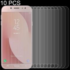 Premium Tempered Glass Screen Film 100 PCS 0.26mm 9H 2.5D Tempered Glass Film for Galaxy J7 Neo J701 Anti-Scratch Screen Protector