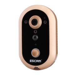 Sunsky Escam Qf600 Wifi Smart Doorbell 720p 1 0mp Indoor